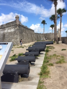 Fort at St. Augustine.