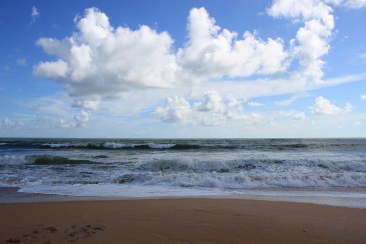 Random beautiful beach on the east coast.