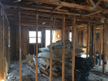 Stacks and stacks of drywall
