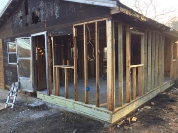 Rebuilding the frame